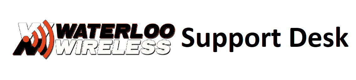 Waterloo Wireless :: Support Ticket System